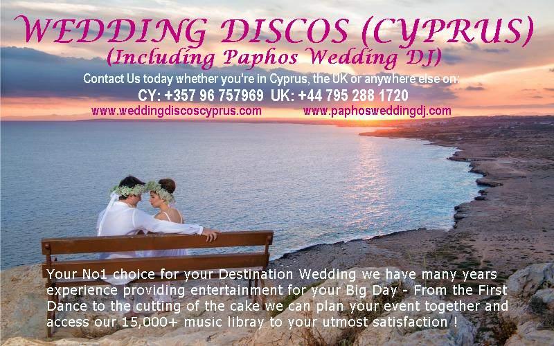 Wedding Discos Cyprus